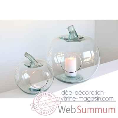 pomme d corative casablanca design 87389 de d coration nature fruit et l gume. Black Bedroom Furniture Sets. Home Design Ideas