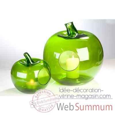 pomme d corative casablanca design 87390 de d coration nature fruit et l gume. Black Bedroom Furniture Sets. Home Design Ideas