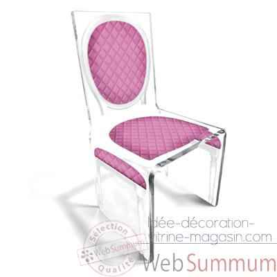 Chaise Aqua L16 Chic Rose Design Samy, Aitali