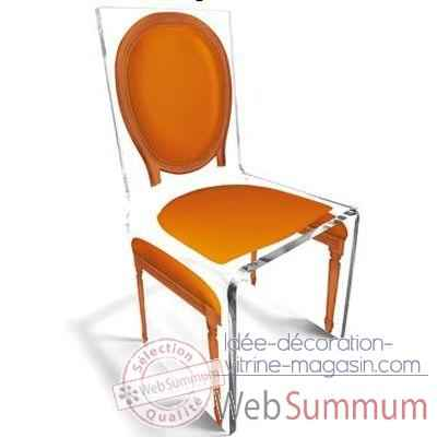 Chaise Aqua L16 Original Orange Aitali