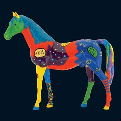 Cheval Harlequin Art in the City - 80283
