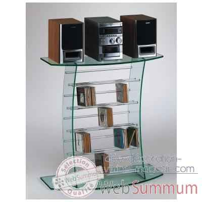 D co noel sapin id e d coration vitrine magasin for Meuble chaine hifi en verre