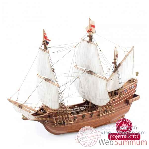 Maquette kit construction bateau golden hind Constructo -80844