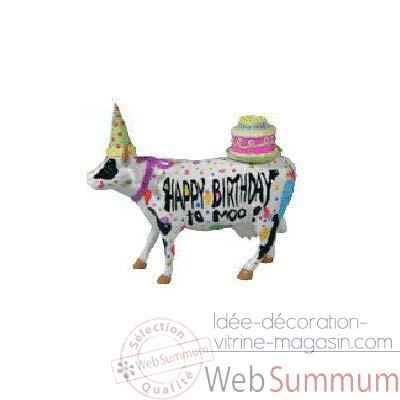 Cow Parade -West Hartford 2003, Artiste Juan Andreu, Mike Dowdall -Happy birthday to Moo-47331