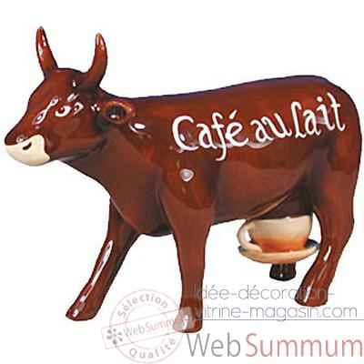 Cow Parade -Prague 2004, Artiste Jiri Sliva -Cafe au lait-47345