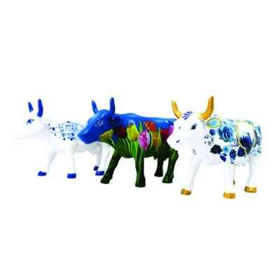 Coffret 3 mini vaches netherlands artpack resine CowParade -46603