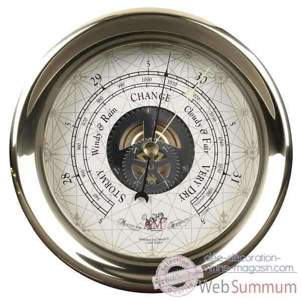 Barometre du capitaine decoration marine amf sc041