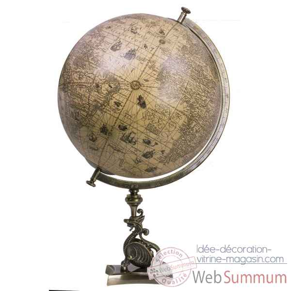 Globe dragon Decoration Marine AMF -GL054