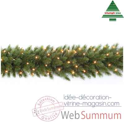Guirlande led forest fr.pine l270d33 vert 96l tips 210 -387086