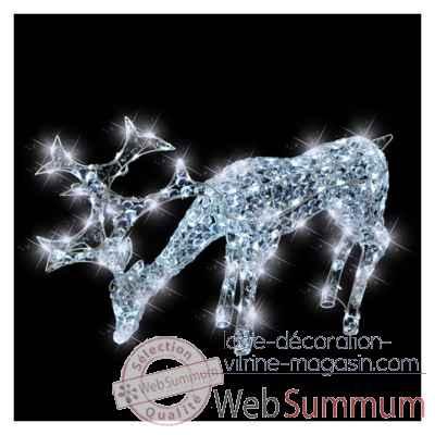 Ours assis acryl led kaemingk 492013 dans animaux lumineux de d coration noel - Animaux lumineux noel ...