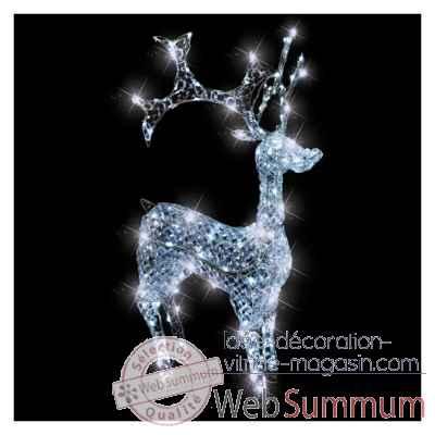 Animaux lumineux dans d coration noel sur id e d coration - Decoration noel renne lumineux ...
