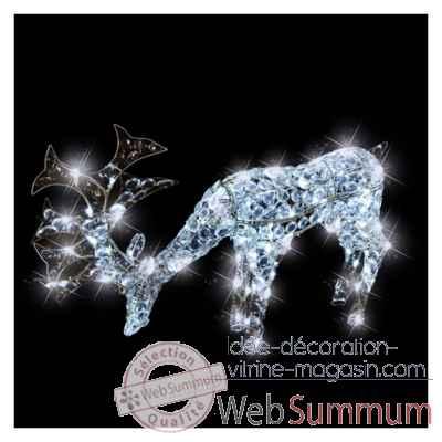 Animaux lumineux dans d coration noel sur id e d coration vitrine magasin - Animaux lumineux noel ...
