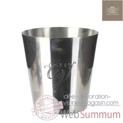 Seau a glace most welcome home h20d19 aluminium -230369