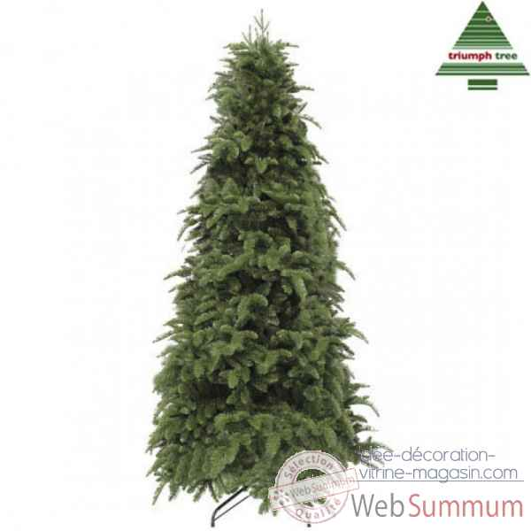 X-mas tree delux slim abies nordmann h185d114 green tips 1243 Edelman -389626