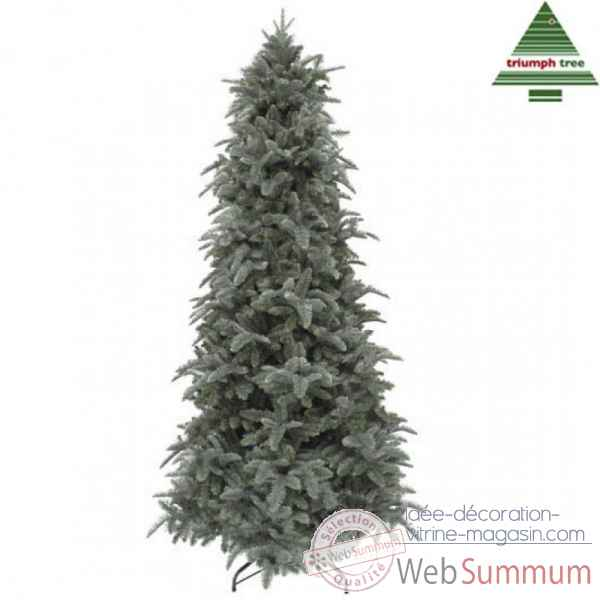 X-mas tree delux slim abies nordmann h260d145 forest blue tips 2699 Edelman -389649