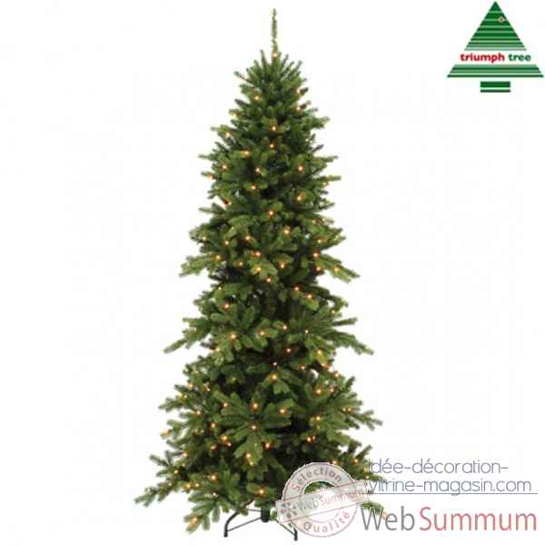 X-mas tree led emerald pine h600 d236 green 2072l tips 13793 Edelman -389744