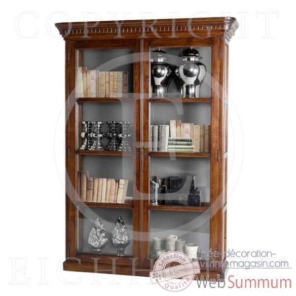 Eichholtz cabinet display all glass chene -cab01107