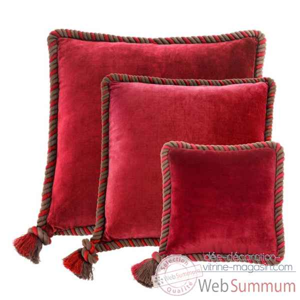 Coussin christallo set de 3 eichholtz -110242
