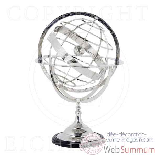 Eichholtz globe xl nickel -acc04914