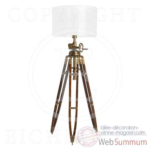 Eichholtz lampe royal marine antique cuivre -lig05783