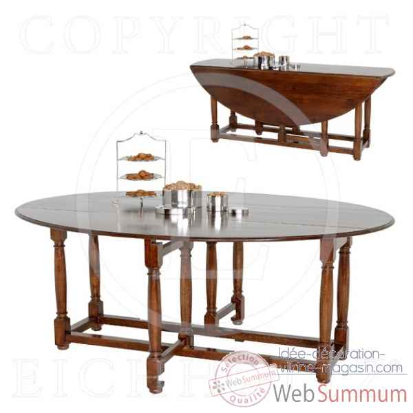 Eichholtz table geneve gateleg chene -tbl01574