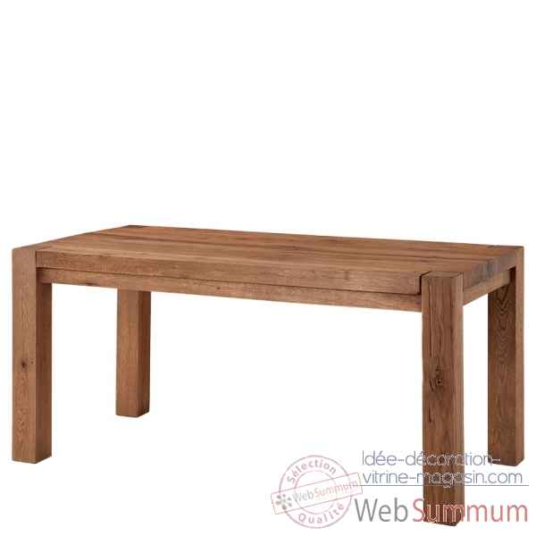 Table harbour club chene 160 cm Eichholtz -TBL07395
