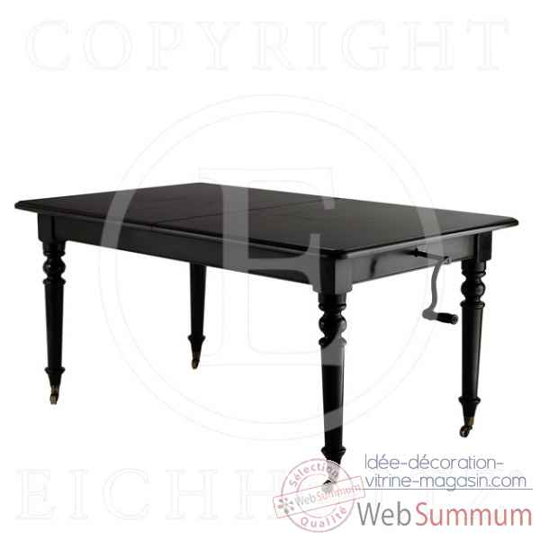 Eichholtz table a manger spindel finition noir -tbl05343