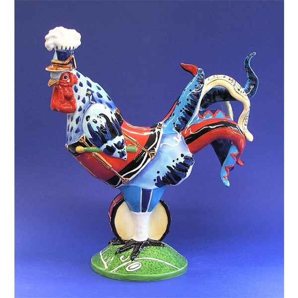 Figurine Coq Poultry in Motion Drumsticks -PM16714