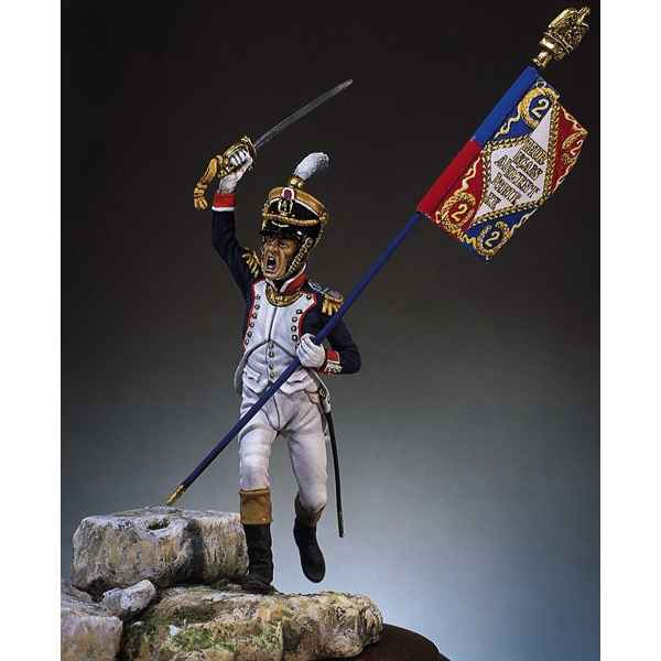 Figurine - Major, 2e de ligne en 1809 - S7-F3