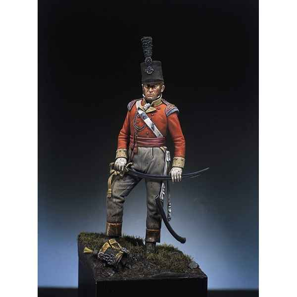 Figurine - Officier britannique en 1815 - S7-F7