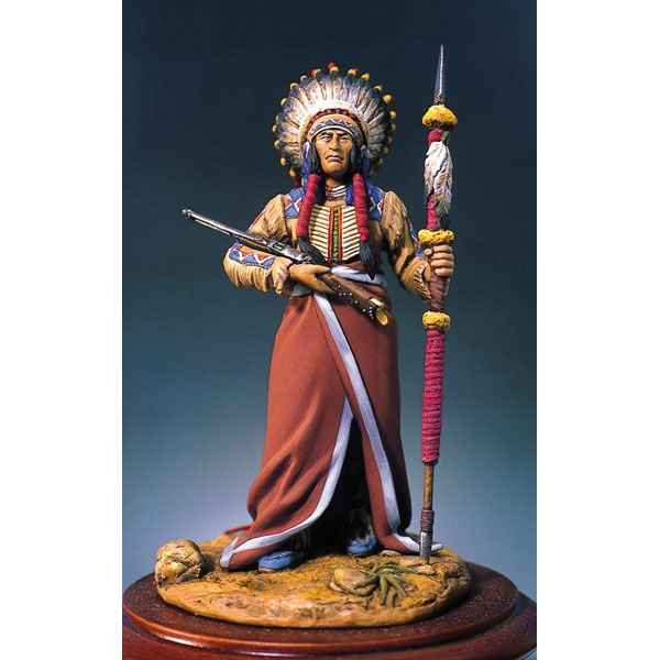 Figurine - Kit a peindre Chef sioux - S4-F19