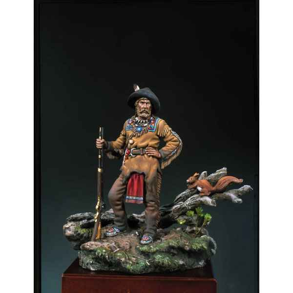 Figurine - Kit a peindre Trappeur  1840 - S4-F23