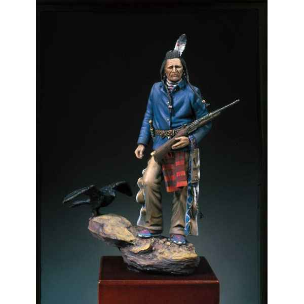 Figurine - Explorateur Crow  1876 - S4-F24
