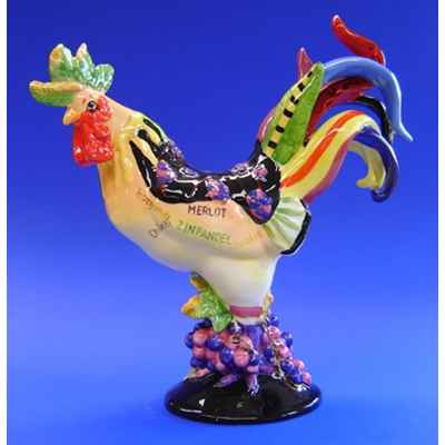 Figurine Coq - Poultry in Motion - Coq au Vin - PM16206
