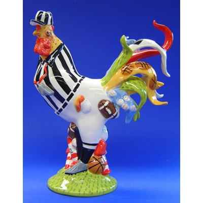 Figurine Coq - Poultry in Motion - Fowl at Play - PM16294