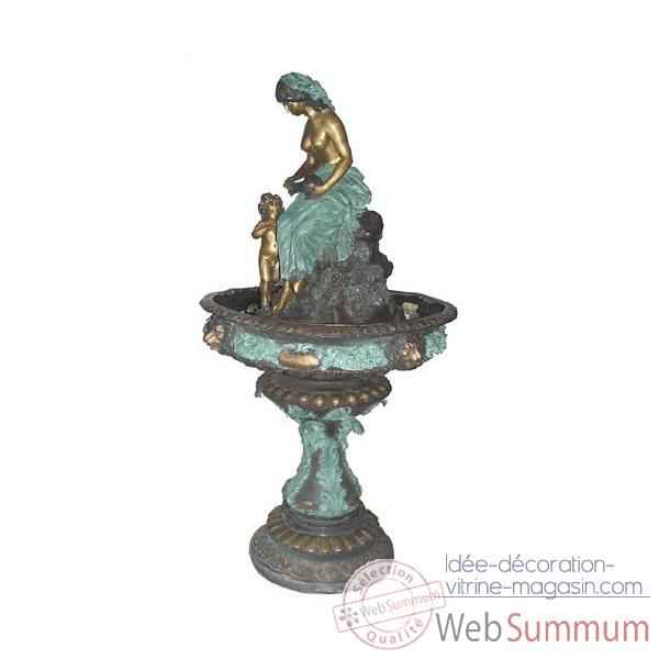 Fontaine Vasque en bronze -BRZ411
