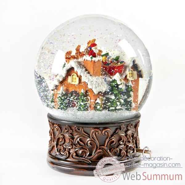 boule a neige noel Boule à neige 20cm  MC 19203 de Goodwill dans Boules de Noel boule a neige noel