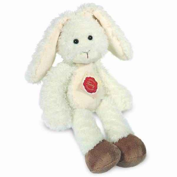 Peluche Lapin pantin blanc Hermann Teddy collection 32cm 94623 6