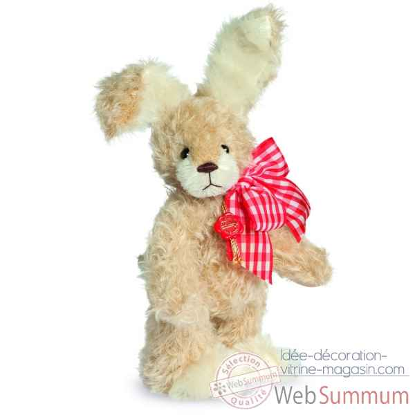 Peluche de collection lapin stuppsi 25 cm hermann -16760 0