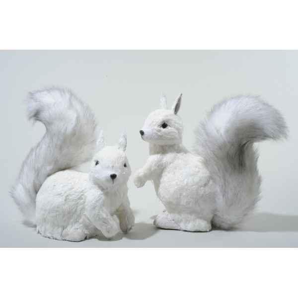 animaux coton blanc dans d coration noel sur id e. Black Bedroom Furniture Sets. Home Design Ideas