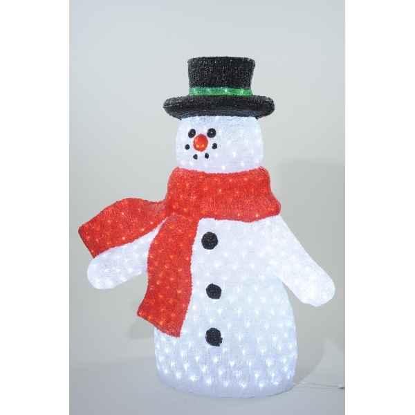 Sapin artificiel sur id e d coration vitrine magasin - Bonhomme de neige decoration exterieure ...