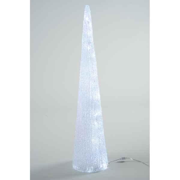 led cone acryl kaemingk dans sapins design sur id e d coration vitrine magasin. Black Bedroom Furniture Sets. Home Design Ideas