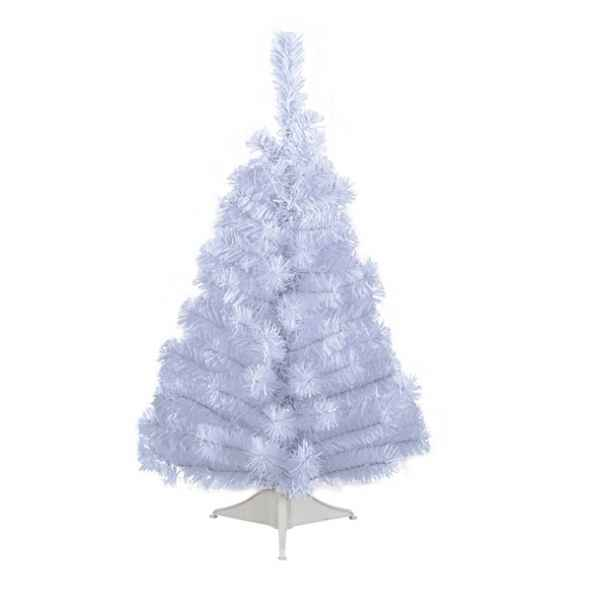 Mini sapin blanc 90 cm Everlands -NF -682563