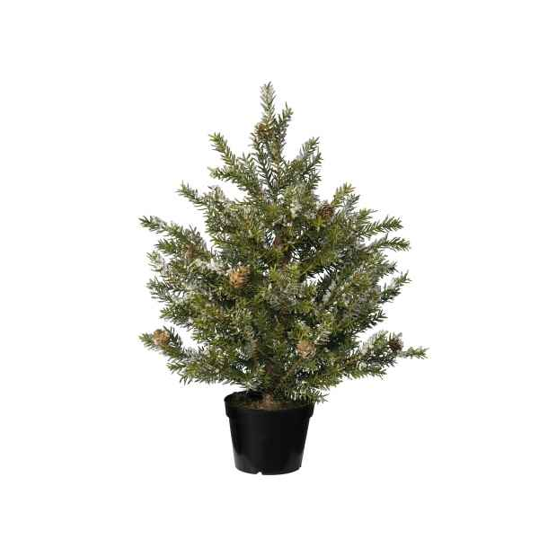 Mini sapin taxus finition gel 45 cm Everlands -NF -685076