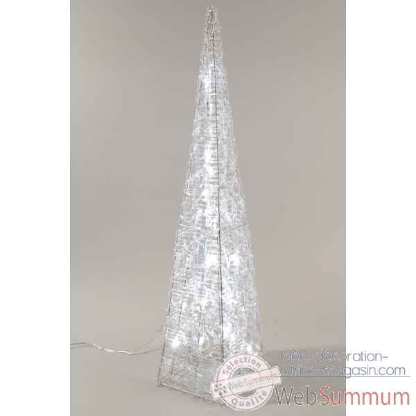 Pyramide acrylique led Kaemingk -491952