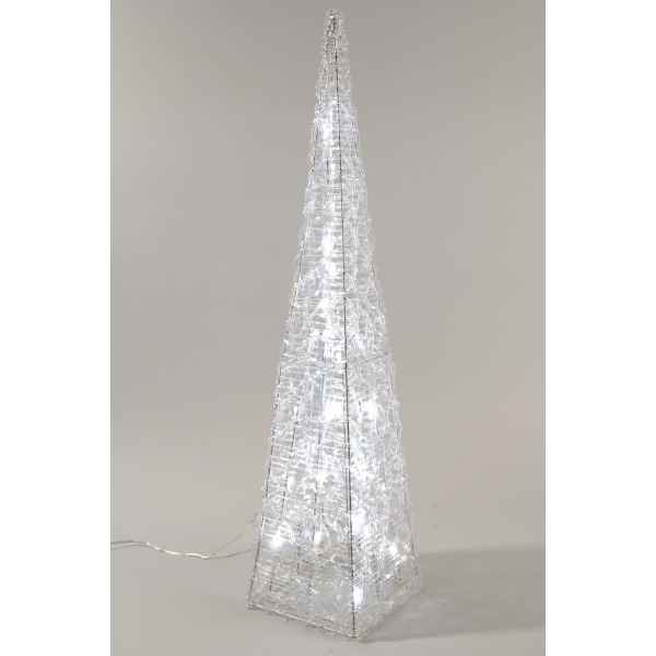 Pyramide acrylique led Kaemingk -491953