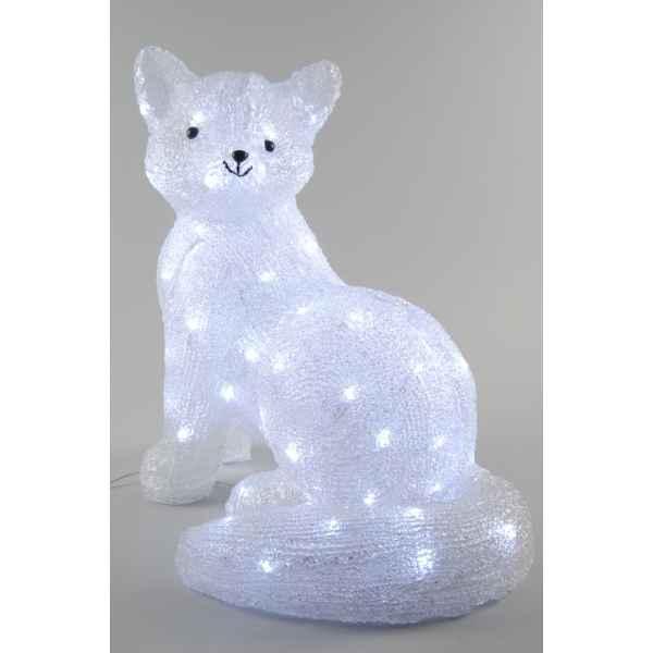 Renard acrylique led kaemingk 492052 dans animaux lumineux de d coration noel - Animaux lumineux noel ...