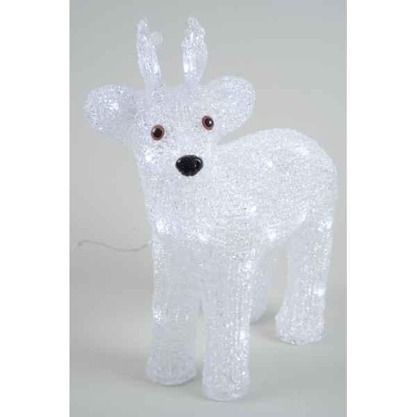 Ecureuil acrylique led kaemingk 492058 dans animaux - Decoration noel renne lumineux ...