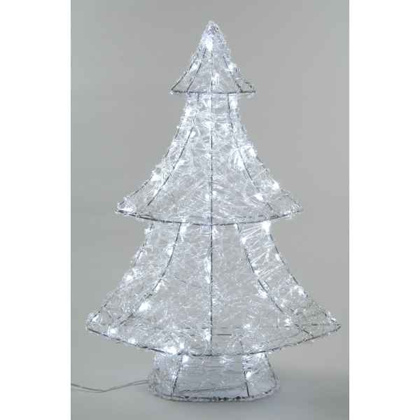Sapin acrylique led 90 cm Everlands -NF -491976