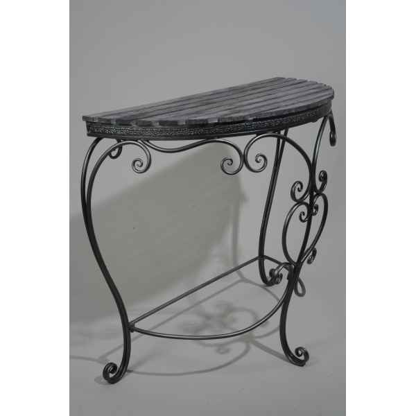 Table de chevet en metal Kaemingk -380165
